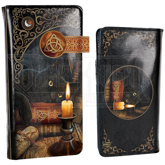 Witching Hour Black Cat Wallet