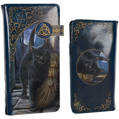 A Brush With Magic Black Cat Wallet