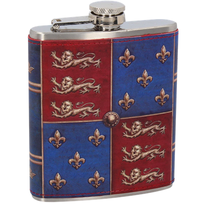 Medieval Shield Hip Flask