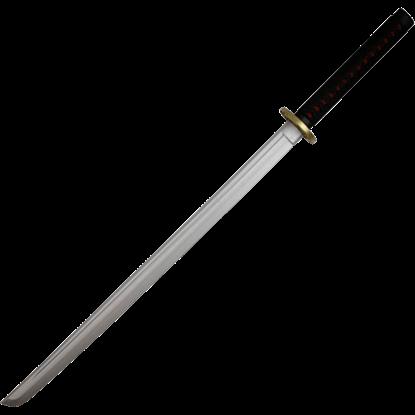 Black Foam Samurai Katana
