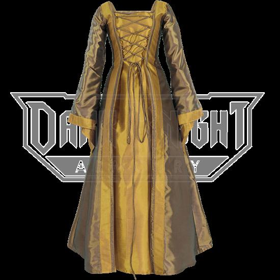 Renaissance Sorceress Dress - Bronze