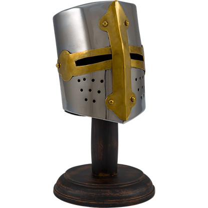 Mini Medieval Tournament Helmet