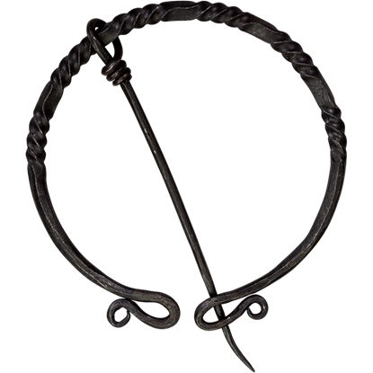 Large Twisted Penannular Brooch