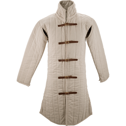 Ecru Medieval Gambeson