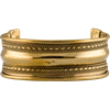 Brass Viking Cuff Bracelet - Medium