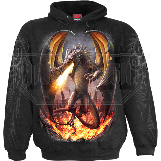 Draco Unleashed Dragon Hoodie