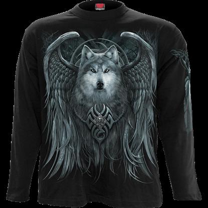 Wolf Spirit Long Sleeve T-Shirt