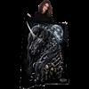 Dark Unicorn Fleece Blanket