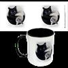 Yin Yang Cats Ceramic Mug