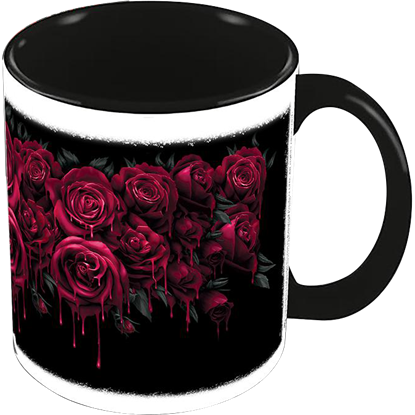Blood Rose Ceramic Mug