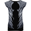 Seraphim Allover Cap Sleeve Top