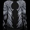 Seraphim Allover Long Sleeve Top