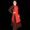 Ormhild Canvas Viking Apron Dress