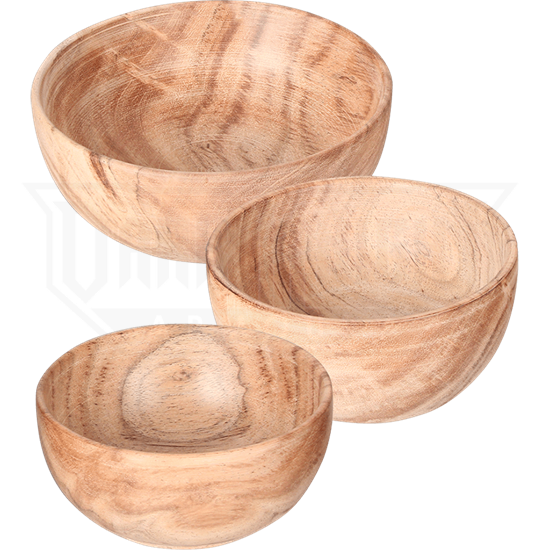 Ada Small Wooden Bowl