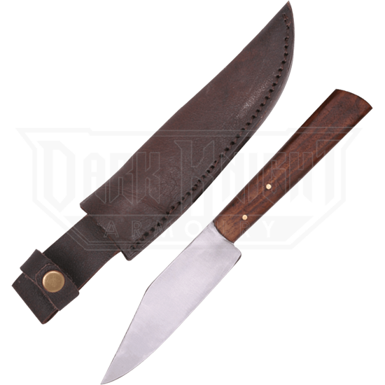 Arno Small Knife with Leather Sheath