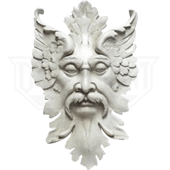 Florentine Greenman Wall Plaque - 12 Inches