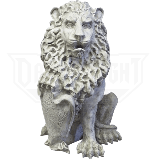 Richelieu Lion Statue - Right