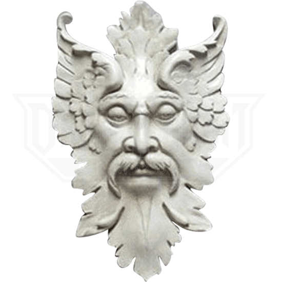 Florentine Greenman Wall Plaque - 25 Inches
