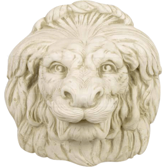 Growling Lion Plaque
