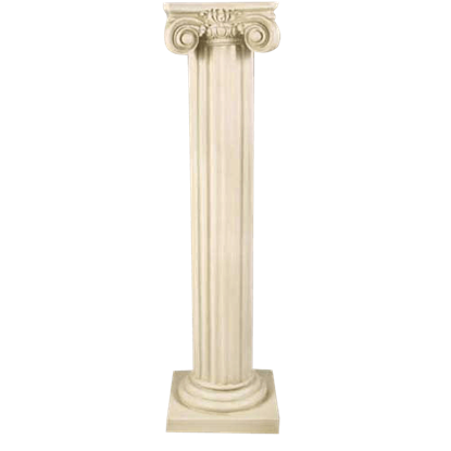 Fineline Ionic Column - 48 Inches