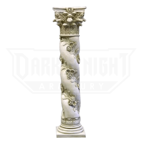 Twisted Rose Pedestal - 60 Inches