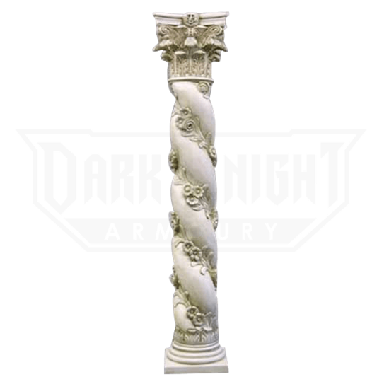 Twisted Rose Pedestal - 72 Inches