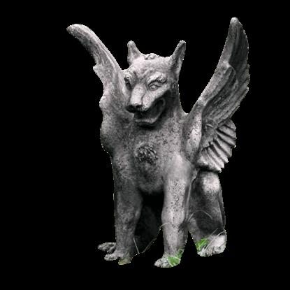 Caesar's Griffin Statue