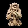 Crusader Gargoyle with Sword Statue