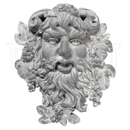 Bacchus of Pisa Wall Plaque