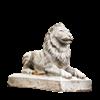 Small Sentinel Lion Statue