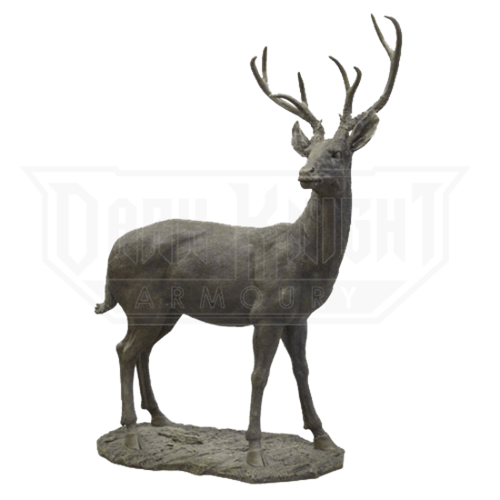White Tail Deer Statue