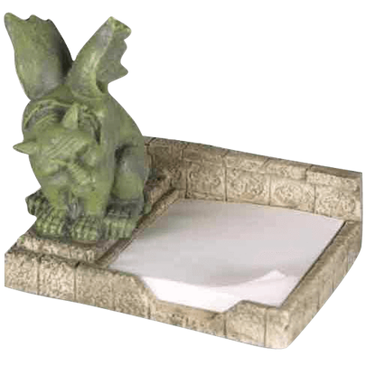 Brent Guard Gargoyle Note Holder