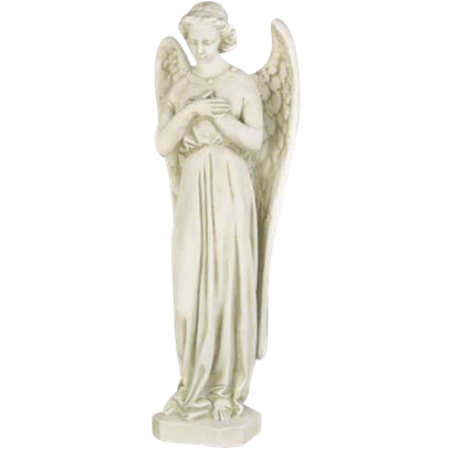 Angel in Cari Cross Statue