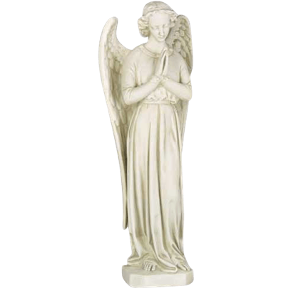 Angel in Cari Pray Statue