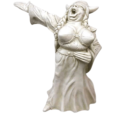 Fat Lady Sings Statue