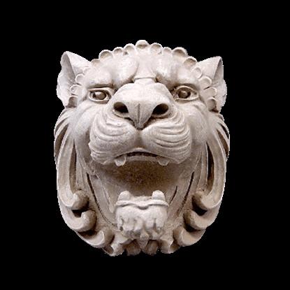 Castle Lion Head Plaque