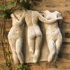Three Graces Wall Plaque