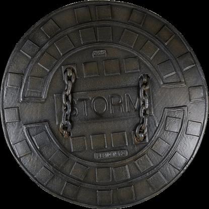 LARP Sewer Shield – Dark Moon Collection