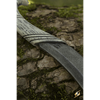 Elven LARP Sheath with Throwing Knife