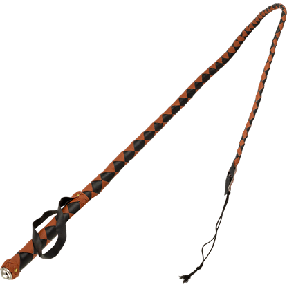 Two Tone Leather Bullwhip
