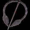 Leaf Penannular Brooch