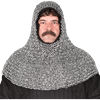 Aluminum Chainmail Coif
