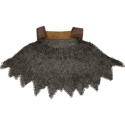 Chainmail Aventail with Dagged Edges