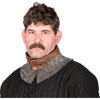 Flat Ring Wedge Rivet Chainmail Mantle