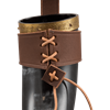 Rollo Drinking Horn with Leather Holder