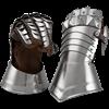 Knightly Medieval Gauntlets
