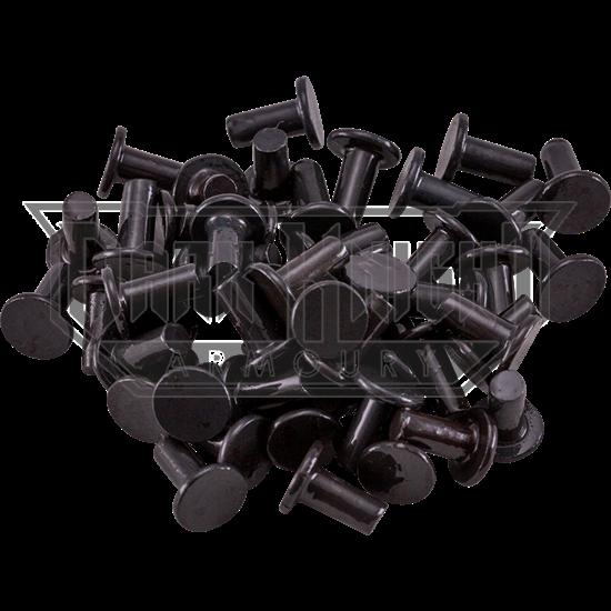 Steel Flat Head Rivets