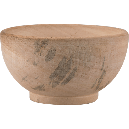 Wooden Medieval Feasting Bowl