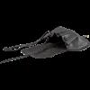 Adventurers Leather Flap Bag - Black