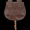 Adventurers Leather Flap Bag - Brown